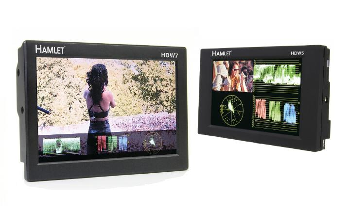 Precision range of HD portable displays